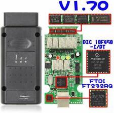 USB  D23 OBD2 OP-Com für Opel Single Layer PCB Adapter Firmware v1.7 2014V OPCOM