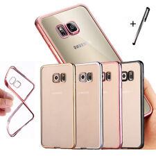 Samsung Galaxy S8 S7 S7 Edge Handy Hülle Cover Case Schutzhülle Tasche Silikon