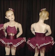 Precious Bloom Dance Costume Ballet Tutu and Flowers Child Small New