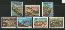 Burkina Faso Wildlife 1985 Mi. # 1005 - 1011 Mint Never Hinged