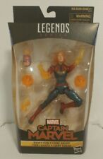 Hasbro Marvel Legends Walmart Exclusive Binary Captain Marvel New Sealed