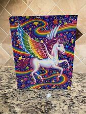 Lisa Frank Folder SKYE Pegasus Flying Horse NEW 2 Pocket School Folder Portfolio