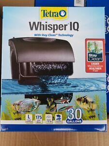 Tetra Whisper IQ Aquarium Fish Tank Power Filter 30 Gallon