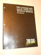 1985 COUGAR AFS ELTIGRE AFS SERVICE SHOP REPAIR MANUAL ARCTIC CAT