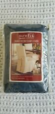 Set of Two  Cotton  Duck Dining Room Chair Cover.