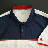 ADIDAS CLIMACOOL Mens Golf Polo Shirt Size XL Short Sleeve