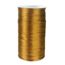 Satin Rattail Cord Ribbon Chinese Knot, 2mm, 200 Yards