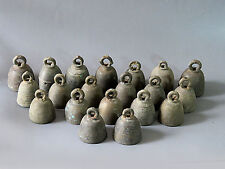 2#Wholesale 20 Antique bronze Temple Small bell Cheap Price Don't Miss