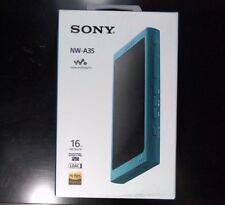 Sony NW-A35 16GB Walkman Hi-Res Audio Digital Music Player - Viridian Blue ✔NEW✔
