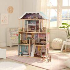Kidkraft Charlotte Dollhouse with EZ Kraft Assembly ™| Fits Barbie Sized Dolls