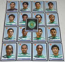SPORTING PORTUGAL COMPLETE TEAM PANINI FOOTBALL UEFA CHAMPIONS LEAGUE 2006 2007