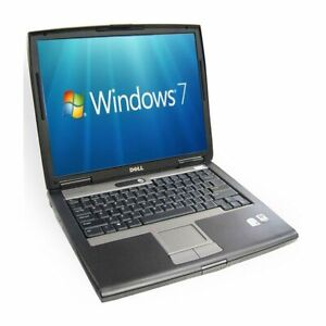 """Dell D530 Core2Duo RAM 3GB HDD 160GB 15"""" Win7 WiFi Free Charger USB CD LAPTOP"""