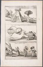Chatelain - Northern Europe; Representations - 1718 Atlas Historique Engraving