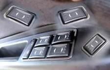 D Ford Mondeo MK III Chrom Rahmen für Schalter Fensterheber - Edelstahl poliert