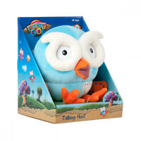NEW ABC Kids Giggle & Hoot Talking Interactive Hoot Soft Owl Plush Toy Fun Gift!