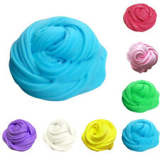 1x Plasticine Fluffy Floam Slime Putty Scented Tub Non Borax Soulage Strass Neuf