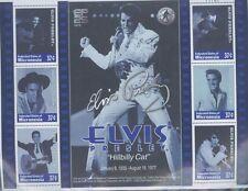 "ELVIS PRESLEY ""Hillbilly Cat""  Commemorative Sheet / MICRONESIA  #508 MNH - E4"