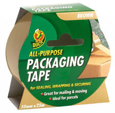 Duck All Purpose Tape Brown 50mm X 25m 222180
