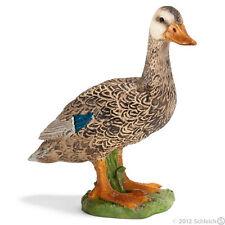 Schleich 13019 Canard Mallard Duck Head Down Wildente 1991-1998 Neuf New Neu