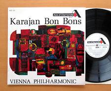 ADD 150 Karajan Bon Bons Vienna Philharmonic 1966 Decca Grooved Mono EXCELLENT
