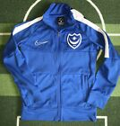 Portsmouth fc Tracksuit Top Not football shirt by Nike Size XS Pompey