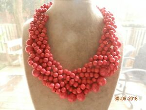 $48.00 Baublebar Bubblestream' Collar Necklace -HOT PINK