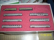 CON-COR N SCALE #8507 LIMITED EDITION LACKAWANNA PASSENGER SET