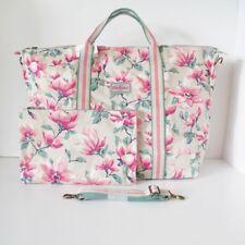 Authentic NEW Cath Kidston Large Foldaway Overnight Shopper Travel Bag, Magnolia