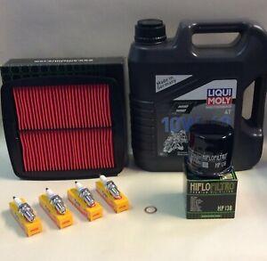 Service Kit fits GSF600 Bandit 600 Mk I 1995-1999 Oil Spark Plugs Filters