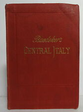 Baedeker Central Italy 1909