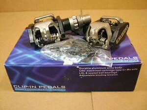 New-Old-Stock Exustar Clip-In Pedals...ATAC Compatible System w/Cleats