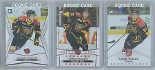 CONNOR MCDAVID 3 CARD ROOKIE LOT 2015 LEAF ITG WEARING CHL JERSEY MINT  #1 PICK