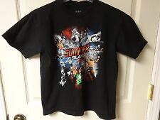 Vintage WWE 2012 Summer Slam PPV Show Tee Shirt Size Youth Large by WWE