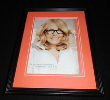 Diane Keaton 2015 L'Oreal Excellence Framed 11x14 ORIGINAL Advertisement B