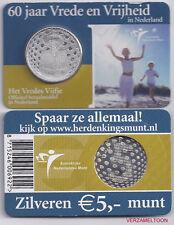"NEDERLAND 5 EURO  2005: ""HET VREDES VIJFJE"" IN COINCARD"