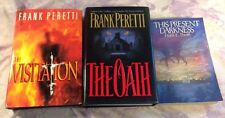 Frank Peretti Christian Book Lot , Oath, Visitation This Present Darkness