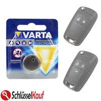 VARTA Batterie Fernbedienung Autoschlüssel Klappschlüsssel OPEL ASTRA G  H  J  K