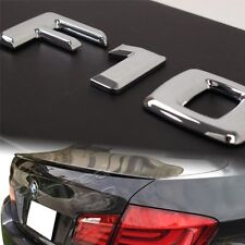 UNPAINTED 2011+ For BMW F10 M5 STYLE TRUNK SPOILER + F10 Emblem