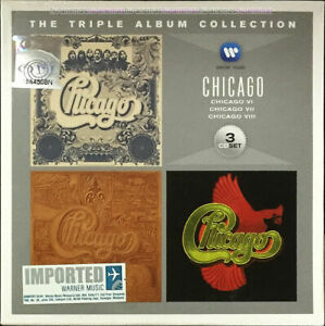 CHICAGO Die Triple Album Collection 2012 MALAYSIA / EU DIGIPAK 3 CD SET +...