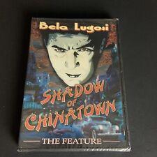 Shadow of Chinatown Classic Movie Bela Lugosi Dvd Brand New Sealed Rare