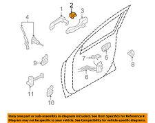 HYUNDAI OEM Veracruz Lock Hardware-Rear Door-Handle, Outside Cover 826623J000