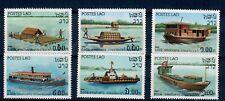 (W1054) LAOS, 1982, SHIPS, MI 561/66, SET, MNH/UM, SEE SCAN