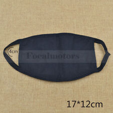 Black Unisex Fashion Mask Cotton Respirator Face Mask New