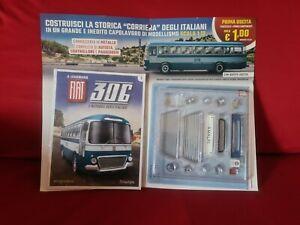 Il leggendario Fiat 306 l'autobus degli italiani,prima uscita 2021 hachette