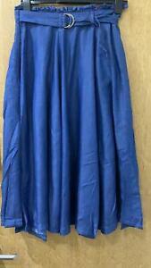 NEW RRP £32.99 Ex Marks and Spencer Indigo Women's Skirt