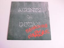 Agents Of Decay searching for pleasure Dutch New Wave/Post Punk 45 rpm LP