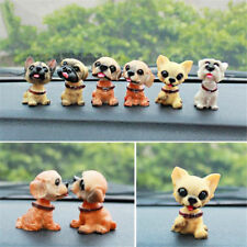 1pc Shaking Head Nodding Spotty Dog Ornament Lovely Car Interior Doll Decor Gift