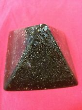 Orgone Pyramid Prosperity House Protectors Small Black