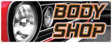 Body Shop Banner Car Auto Repair Shop Sign 18x48