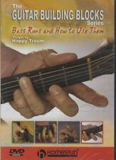 Guitar Building Blocks Bass Runs & How To Use Them Tuition DVD Happy Traum